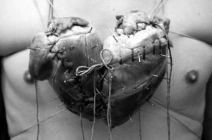 This is how the shape of the romantic heart was created, in case you did not know.