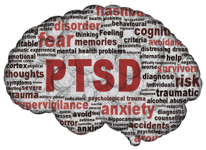 PTSD on the brain...the heart..the soul.